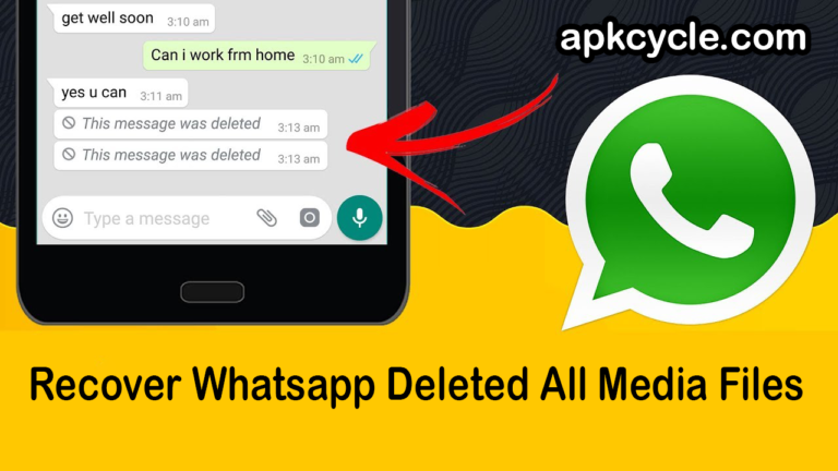 How to Recover Whatsapp Deleted All Media Files