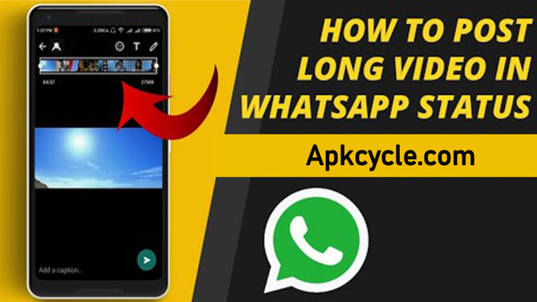 How to Post Long Video in WhatsApp Status?